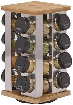 Kamenstein Warner 16-Jar Revolving Spice Rack with Free Spice Refills for 5 Years Kamenstein http://www.amazon.com/dp/B00UV3Z7PY/ref=cm_sw_r_pi_dp_cOlYwb194FJXC