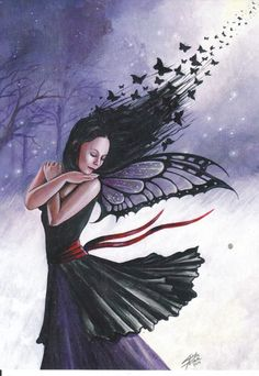 My Fairy-cards :: Gone with the wind, Linda Peltola image by Kaheli_album - Photobucket