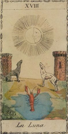 Ancient Tarot of Lombardy. by permission of Lo Scarabeo.