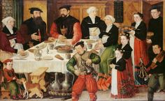 1559 Hans Hug Kluser Bildnis der Famlie des Basler Zunftmeisters Hans Rudolf Faesch und der Anna Glaser