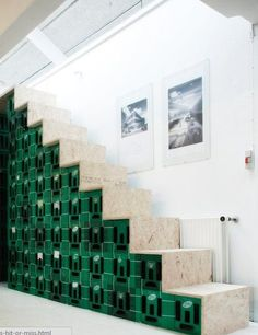 Stairway Made From Milk Crates: Hit or Miss?- Stairway Made From Milk Crates: Hit or Miss? Stairway Made From Milk Crates We have lots of milk crates around town…I'm sure I could find something to use them for!