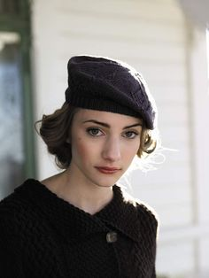 1940's style beret - knitting pattern from Rowan Yarns