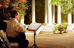 Classical Guitar music by Ben Sherman at 'Ceresville Mansion' wedding in Frederick, Maryland,