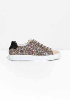 & Other Stories | Kaleidoscopic Glitter Sneaker