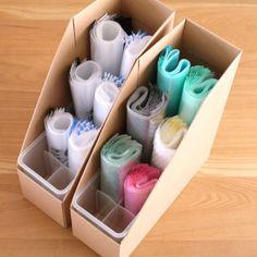 [Series] Storage method of freezer bag that utilized cando goods and 100 level goods! Kitchen Organisation, Organization Hacks, Organizing, Konmari, Craft Storage, Locker Storage, Muji Stationery, Drawer Organisers, Diy Home Crafts