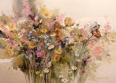 Wildflowers, by Morten E Solberg Sr.
