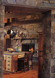 Earthman Residence - traditional - kitchen - denver - David Johnston Architects