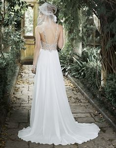 MAGGIE SOTTERO Jeannette Chiffon Gown