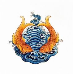 The 8 Auspicious Symbols from Buddhism | (4) GOLDEN FISHES - symbolises the auspiciousness of all living beings in a state of fearlessness, without danger of drowning in the ocean of sufferings, and migrating from place to place freely and spontaneously, just as fish swim freely without fear through water. So they symbolize happiness, as they have complete freedom in water. They also represent fertility and abundance as they multiply very rapidly and conjugal unity and fidelity for the…