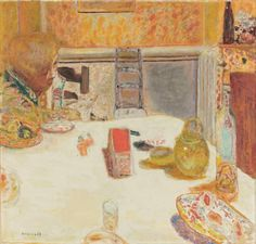 Pierre Bonnard, Dining Room in Le Cannet, 1932 (Musée d'Orsay, Paris)