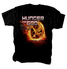 I love this Hunger Games shirt! It has a great message. $21.99