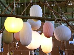 bel+bo display at DMY berlin String Lights, Ceiling Lights, My Gems, Berlin, Color Shades, Lighting Design, Light Fixtures, Home Accessories, Balloons