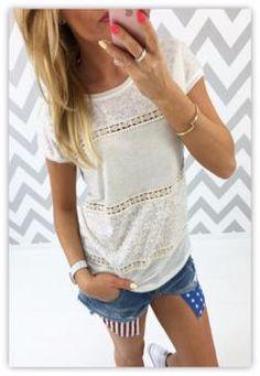Trendy Casual Loose Top T-Shirt