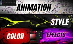 Découvre les étapes clefs pour créer des animations époustouflante. Animation, Neon Signs, Anime, Cartoon Movies, Animation Movies, Anime Music, Motion Design, Anime Shows