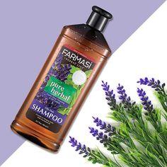 Bitki özü ve vitaminlerle canlanan saçlar için, Farmasi Pure Herbal Lavanta