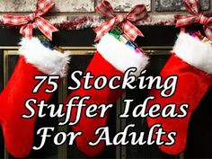 75 Stocking Stuffer Ideas For Adults