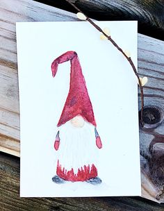 This article is not available - GNOME Greeting Card Set Swedish Tomte Nis . - This article is not available – GNOME Greeting Card Set Swedish Tomte Nisse – - Watercolor Christmas Cards, Christmas Drawing, Christmas Paintings, Watercolor Cards, Watercolor Print, Christmas Gnome, Christmas Art, Christmas Decorations, Painted Christmas Cards