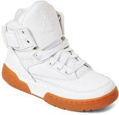 official photos df4e1 a1703 Patrick Ewing (Kids Boys) White   Gum 33 High-Top Sneakers