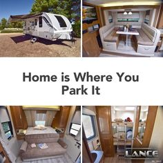 The Lance 2185 Travel Trailer is great for a small family looking for a great big adventure! Learn all about this travel trailer on our website! Travel Trailers, Hunting, Fishing, Adventure, Website, Big, Camper Trailers, Adventure Movies, Single Wide