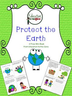 Education to the Core: Earth Day Freebie and more!
