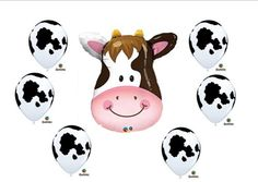 Cow print Birthday Party Baby Shower