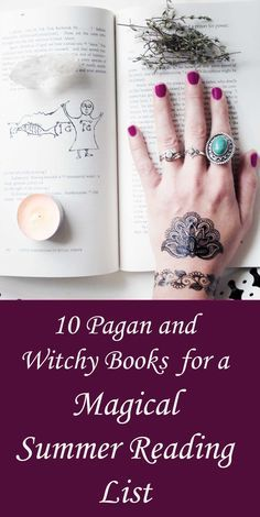 Summer Reading: 10 Witchy & Pagan Books to Get Excited About - Moody Moons Witchy, new age and pagan books for summer reading list. O Ritual, Reading Slump, Witchcraft Books, Magick Spells, Traditional Witchcraft, Witchcraft For Beginners, Summer Reading Lists, Witch Aesthetic, Aesthetic Art