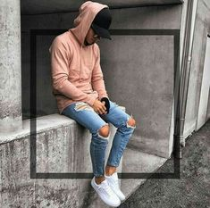 Miraculous Diy Ideas: Urban Fashion Winter Inspiration urban fashion Fashion Photography Blue urban fashion teen Fashion For Men Suits. Mode Streetwear, Streetwear Fashion, Streetwear Jeans, Mode Outfits, Urban Outfits, Teen Boy Fashion, Urban Fashion Girls, Herren Outfit, Popular Outfits