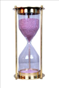 hourglass sand timer brass sand timer steampunk by selectavibes