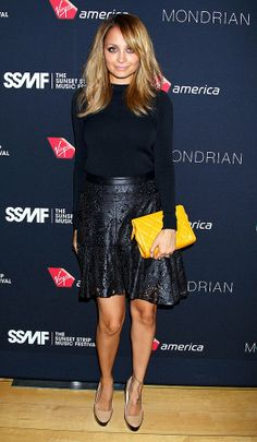 Never disappoints especially in that Winter Kate Laser Cut Leather Skirt