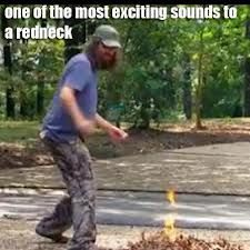 Jase burnin leaves, only to get in trouble with the HOA  lol