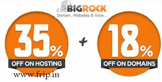 Get 35 % Discount on BigRock Hosting...  http://www.frip.in/get-35-discount-on-bigrock-hosting-with-coupon-code-gosf-offer/