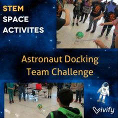 Ready to launch your students into some space STEM activities? Explore our top 10 space-themed STEM activities categorized into the 3 stages of STEM to fit any learning level. This team challenge is a great back to school icebreaker! Space Activities For Kids, Moon Activities, Steam Activities, Science Activities, Camping Activities, Icebreaker Activities, Camping Ideas, Science Week, Stem Science