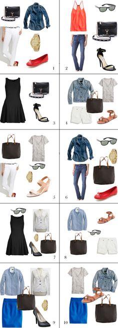 10 Basic Outfits | 20 Basics :: 20 Outfits