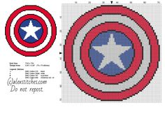 Image Result For Captain America Shield Star Template Bing Images