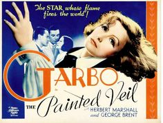 Greta Garbo movie poster -1934