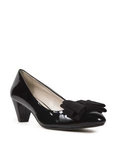 Bow court shoes - Woolworths South Africa. Court Shoes, Salvatore Ferragamo, South Africa, Mothers, Peep Toe, Bow, Heels, Arch, Heel