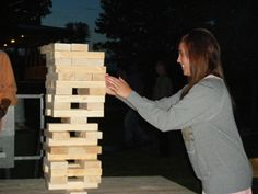 DIY Life-Size Jenga! Click for rules and instructions