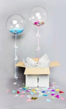 Balloon In A Box - Bonbon Balloons