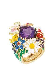 Les bijoux de Victoire de Castellane #flower #ring