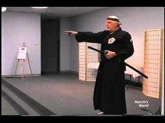 Hanshis World - Hanshi Kaufman teaching basic Iaido concepts. - YouTube #martialarts