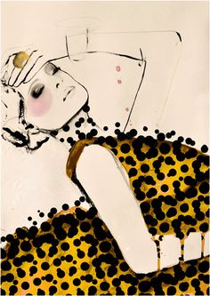 Leigh Viner - Fashion illustration