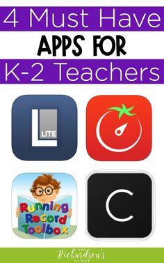 These are the MUST-HAVE apps for primary and elementary teachers to use in the classroom. They'll help with conferences, classroom management, time management, and literacy. Check them out to improve you efficiency and organization! Teaching First Grade, Primary Teaching, Teaching Jobs, Creative Teaching, Teaching Strategies, Teaching Resources, Teaching Ideas, Classroom Organization, Classroom Management