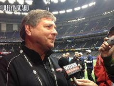 Louisville Athletic Director Tom Jurich speaks to the media after a Louisville win at the Allstate Sugar Bowl