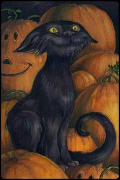 PumpkinCat by Ann Pars. ☀
