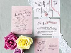 """""""stay"""" instead of accommodations...wedding invitations."""