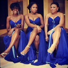 Hawt bridesmaids ☆! #nigerianwedding #NWbms #bridesmaids #wedding #nigerianweddingpictures