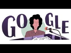 Today's animated video Doodle, made in collaboration with Lyon-based animation studio Souviens Ten-Zan (STZ), celebrates French singer-songwriter Michel Berg. Caricatures, Google Doodles, Logo Google, Holidays And Events, Grands Noms, Singer, Animation, Disney Characters, Birthday