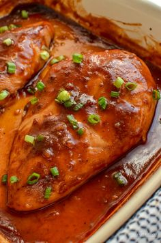 Fuss-free Chinese Barbecue Chicken - a great dinner that is perfect for the whole family. 2.5 SYNS| 3 Weight Watchers Smart Points | 303 CALORIES - gluten free, dairy free, Slimming World and Weight Watchers friendly