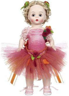 "Madame Alexander Festive Ballerina 8"" Fashion Doll, Ballet Collection Madame Alexander http://www.amazon.com/dp/B00C1ZX6X0/ref=cm_sw_r_pi_dp_SJOcub0XCPB3S"