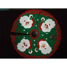 Resultado de imagen para pie de árbol de navidad Christmas Tree, Christmas Ornaments, Felt Crafts, Tree Skirts, Kids Rugs, Holiday Decor, Image, Ideas, Google